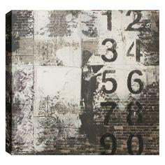 hobbitholeco. Numbers On Bricks Wall Art - CHLO044