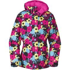 H-The North Face Denay Insulated Ski Jacket (Girls') | Peter Glenn