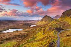 Quiraing View, Staffin, Scotland, by mibreit