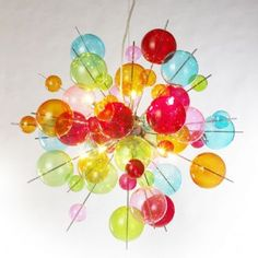 Colourful Sparkle Pendent Light