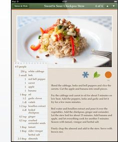 recipe layout ferdin yasamayolver