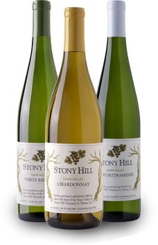 Stony Hill Vineyard - Welcome - Spring Mountain, Napa Valley - Chardonnay, White Riesling, Gewurztraminer & Semillon - cant wait to have our chard on christmas eve!