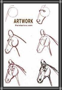 رسم حصان بالرصاص سهل بسيط بالخطوات والصور للأطفال والمبتدئين Art Drawings Sketches Creative Nurse Art Dancer Photography