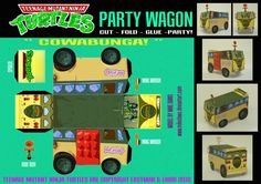 TMNT - Party Wagon by ~mikedaws on deviantART