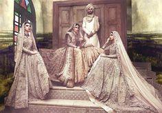 Fahad Hussayn, Gulzar Manzil Court Editions, F/W 2015 (Desi Bridal Shaadi Indian…