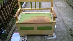 Latex, Old Furniture, Diy Bedroom Decor, Home Decor, Reuse, Toy Chest, Storage Chest, Sweet Home, Outdoor Decor