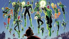 The Corps in Hal Jordan & the Green Lantern Corps #13