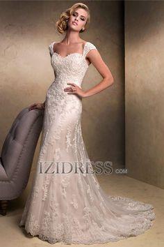 A-Line/Princess Straps Chapel Train Taffeta Wedding Dress   A-Line/Princess Empire Strapless Sweetheart Court Train Chiffon Wedding Dress   ...