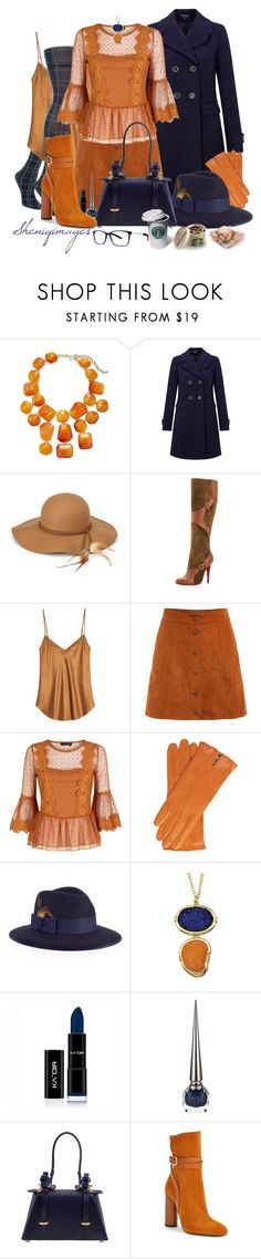 """The Editor by Sheniq"" by sheniq ❤ liked on Polyvore featuring Kenneth Jay Lane, Miss Selfridge, Steve Madden, Christian Louboutin, Mes Demoiselles..., Christys', Niels Peeraer, Gucci and Vera Wang"