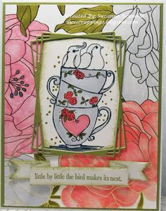 Mojo Monday Card Sketch 515 with measurements/samples Candy Awards, Hot Chocolate Images, Winter Coffee, Frantic Stamper, Unity Stamps, Copic Sketch, Color Blending, Card Sketches, Summer Drinks