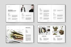 Fashion Magazine and Identity Easily Editable for easy understanding. Just drop in your own images and texts, and it's ready.