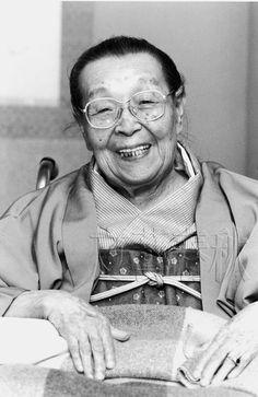 Japanese painter, OGURA Yuki (1895-2000), Japan 小倉 遊亀
