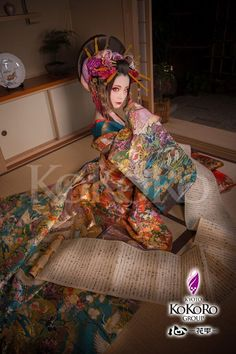 Traditional Japanese Kimono, Vogue Korea, Oriental Fashion, Japanese Outfits, Girl Photography, Traditional Outfits, Female Art, Asian Girl, Poses