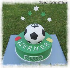 Fußball-Torte zum 50. Geburtstag | KunstiX