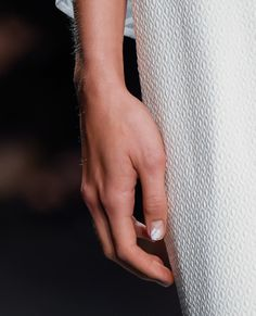 The Prettiest Manicures at Spring 2016 Fashion Week - Tadashi Shoji from InStyle.com