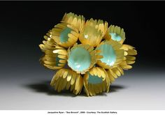"artwork: Jacqueline Ryan - ""Sea Brooch"", 2008 - Courtesy: The Scottish Gallery."
