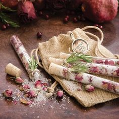 Rosebud Bath Salts DIY by Christen Hammons | Free Project from The Studio
