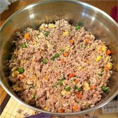 Homemade Dog Food - Allrecipes.com