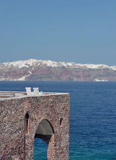 Un toit-terrasse pour admirer le bleu de la mer...