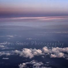 Blue Sky and Clouds Fine Art Print. Pastel Blue and Pink Wall Decor. Clouds Photography. Gallery Canvas Art Framed Wall Art Unframed Photo by ZenStatePhotography from ZenStatePhotography. Find it now at http://ift.tt/1NvBuQ0!