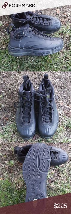 Tim Duncan s Total Air Foamposites Like new worn 2x no scuffs or scratches  or creases Nike 0ee471bf8