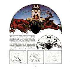 Views book page 86 Roger Dean, Virgin Records, Progressive Rock, Label Design, Book, Art, Art Background, Kunst, Performing Arts