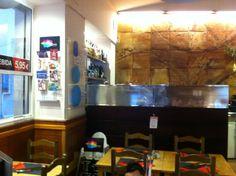 Restaurante Comepizza | Calle Granada, 6 Granada, Cool, Four Square, Flat Screen, Display Stands, Circuit, Restaurants, Blood Plasma, Grenada