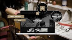 Webdesign Mockup/ Showcase Barber-Shop