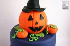 Tarta Halloween - DECO RACIONES by Victoria Galiana decoracionesreposteria.wordpress.com