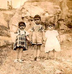 Pedreira, Guaratuba, 195? - Família Mafra