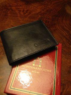 Monte Napoleone Milano Bi-Fold Wallet with original box