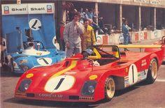François Cevert (Matra-Simca MS670B) and Jacky Ickx (Ferrari 312PB ...