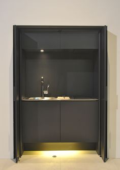 Mini cocina de acero inoxidable AFFILATO HIDE by Sanwa Company