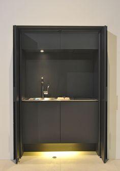 Mini cozinha de aço inox AFFILATO HIDE by Sanwa Company