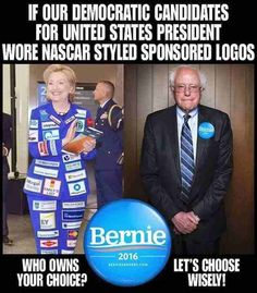 Just take a quick look and understand the implications of this. Look who owns Hilary Clinton and look who owns Bernie Sanders. This says A LOT. Together We Stand, Bernie Sanders For President, Clinton Campaign, Political Issues, Political Art, Political Memes, Choose Wisely, Ubs, Change Is Good