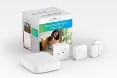 The SmartThings Home Monitoring Kit has everything you need to start monitoring, controlling, and securing your home from anywhere
