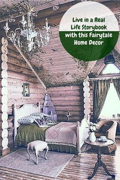 Fairy tales aren't just for the books these days. Use this unique fairytale home decor to bring your home to a whole new, fun dimension.