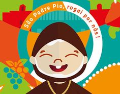 """Check out new work on my @Behance portfolio: """"Padre Pio"""" http://be.net/gallery/50466925/Padre-Pio"""
