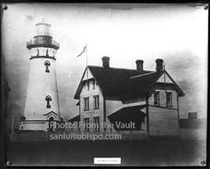 The Piedras Blancas Light Station grounds looked like this a long time ago!  House burnt down.  Light Lens  is in Cambria Ca.