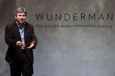 Andrei Vazhnov, en su charla sobre Open Collaboration e innovación para el lanzamiento de #WundermanWIP.