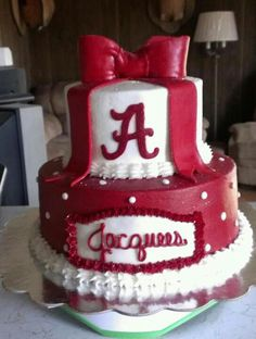 Alabama Cake My 17 birthday party Pinterest Alabama Alabama