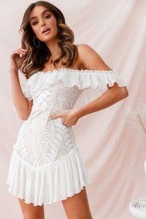 fe25c4453a1c Aspley Flare Cuff Waist Tie Dress Beige. Bell Sleeve DressWhite ...