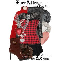 "cerise hood fashion | Ever After High : Cerise Hood"" by missm26 on Polyvore"