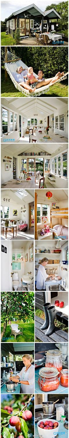 great small house - this house/lifestyle would be the ultimate goal!!