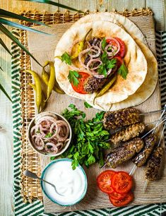 These Turkish-style kebabs are named after the city of Adana and flavoured with chilli and sumac. Make them to feed a crowd at your next barbecue