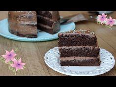 Rapid si usor de facut! TORT cu crema de ciocolata si mascarpone! - YouTube Best Pastry Recipe, Pastry Recipes, Vanilla Cake, Youtube, Desserts, Food, Mascarpone, Pie, Tailgate Desserts