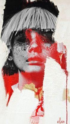 Art Noir, Red Coral, Hot, Artwork, Red, Work Of Art, Auguste Rodin Artwork, Artworks, Illustrators