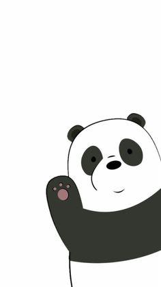 Wallpapers Panda Bear We Bare Beat Panda 2005934 Hd with We Bare Bears Wallpaper Black And White - All Cartoon Wallpapers