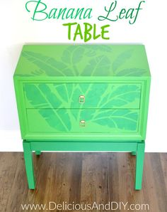 Banana Leaf Table -