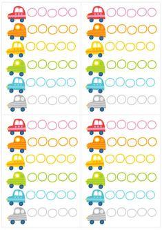 Pikku Kakkosen kesän värityskuvat | Pikku Kakkonen | Lapset | yle.fi Counting Cars, Office Supplies, Illustration, Free, Illustrations